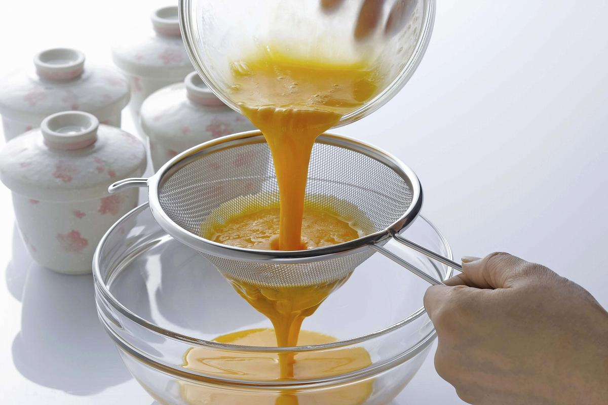 従来品よりも 新作入荷!! アミが丈夫 に つぶしてこせる スープこし日本製 ステンレス製 うらごし 製菓 茶碗蒸し ペースト 信託 本格 プリン