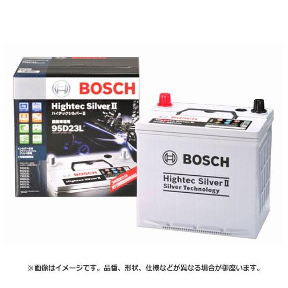 BOSCH ボッシュ Hightec Silver II ハイテックシルバー II 最高性能 バッテリー HTSS-115D26R | 65D26R 75D26R 80D26R 90D26R 110D26R 115D26R ロングライフ メンテナンスフリー 大容量 ハイパワー 長持ち バッテリー上がり バッテリー交換 始動不良 車 部品