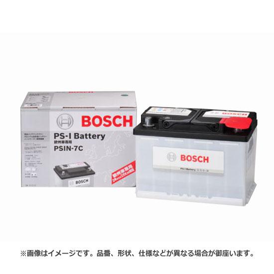 BOSCH ボッシュ PS-I Battery PS-I バッテリー PSIN-7H | ロングライフ バッテリー上がり バッテリー交換 始動不良 車 部品 メンテナンス 消耗品