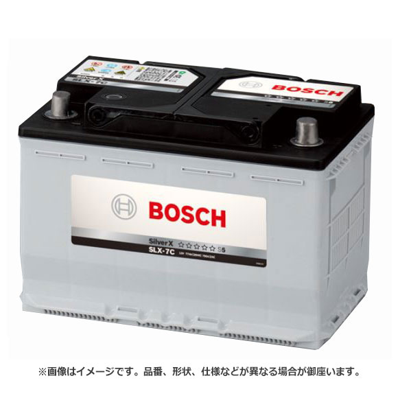 BOSCH ボッシュ Silver X シルバー X バッテリー SLX-6C   メンテナンスフリー 長寿命 ハイパワー バッテリー上がり バッテリー交換 始動不良 車 部品 メンテナンス 消耗品