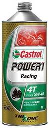 Castrol カストロール POWER1 RACING 4T 5W-40 20L缶||