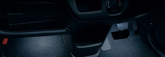HONDA ホンダ 純正 NONE N-ONE エヌワン フットライト LEDホワイト照明 2017.12~仕様変更 08E10-T4G-001A || ライト 車 内装 室内 イルミネーション イルミ 後付け 照明 アクセサリー