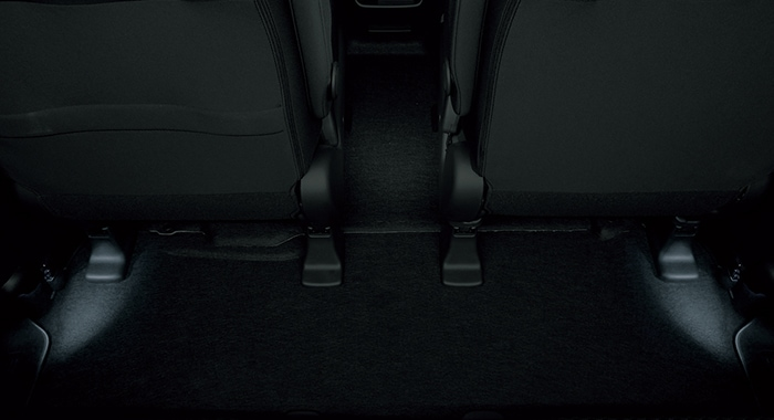 HONDA ホンダ FREED フリード ホンダ純正 フットライト 2列目(リア)用 FREED(Sパッケージ装備車)用/FREED+用 [2016.9~次モデル][ 08E10-TDK-B20 ] || ライト 車 内装 室内 イルミネーション イルミ 後付け 照明 アクセサリー
