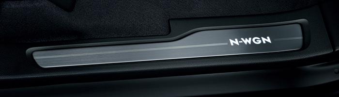 HONDA ホンダ NWGN N-WGN エヌワゴン ホンダ純正 サイドステップガーニッシュ ブラック内装用 2016.6~次モデル 08E12-T6G-020||