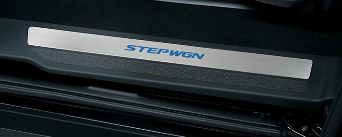 HONDA ホンダ 純正 STEPWGN ステップワゴン サイドステップガーニッシュ リア用 2017.9~仕様変更 08E12-TAA-020C||