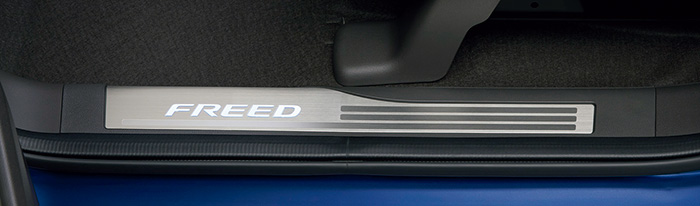 HONDA ホンダ 純正 FREED フリード サイドステップガーニッシュ FREED(Sパッケージ装備無し車)用 2017.9~仕様変更 08E12-TDK-010||