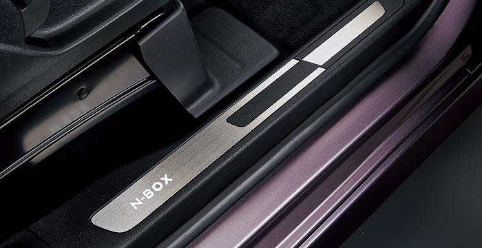 HONDA ホンダ 純正 NBOX N-BOX エヌボックス サイドステップガーニッシュ 助手席スーパースライドシート 2017.8~仕様変更 08E12-TTA-B30  