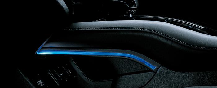 HONDA ホンダ 純正 VEZEL ヴェゼル センターコンソールイルミネーション ブルー HYBRID車用 2018.2~仕様変更 08E16-T7A-000A||