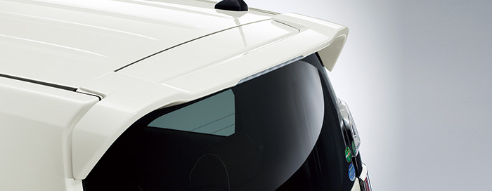 HONDA ホンダ NWGN N-WGN エヌワゴン ホンダ純正 テールゲートスポイラー プレミアムピンクパール 2016.6~次モデル 08F02-T6G-0G0  