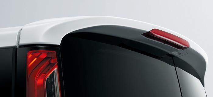 HONDA ホンダ STEPWGN ステップワゴン ホンダ純正 テールゲートスポイラー ホワイトオーキッドP [2016.1~次モデル][ 08F02-TAA-010 ]||