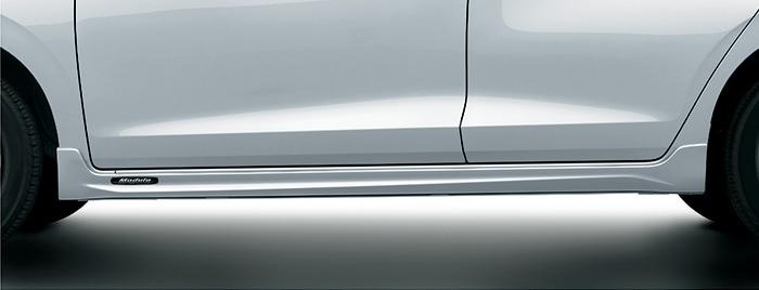 HONDA ホンダ 純正 ロアスカート サイド用 ミッドナイトブルービームメタリック B-610M 08F04-TZA-0H0 | honda純正 ホンダ純正 FIT フィット GR1 GR2 E:HEV フィットハイブリッド GR3 GR4 サイドスポイラー サイド スポイラー エアロ おすすめ エアロパーツ 外装