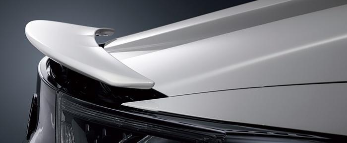 HONDA ホンダ 純正 アクティブスポイラー 用 スポイラーキット アラバスターシルバーメタリック 08F12-TDJ-0C1 | honda純正 ホンダ純正 S660 JW5 リア スポイラー ウイング リアウイング ウイングスポイラー 取り付け おすすめ エアロパーツ 外装 DIY 車用品 カー用品