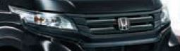 HONDA ホンダ NWGN N-WGN エヌワゴン ホンダ純正 フロントグリル (スマートブラック/エンブレムイルミ付) 2016.6~次モデル 08F21-T6G-000F||