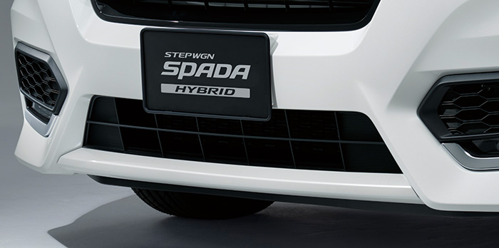 HONDA ホンダ 純正 STEPWGN ステップワゴン フロントロアガーニッシュ スーパープラチナメタリック 2017.9~仕様変更 08F23-TAA-020||
