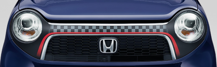 HONDA ホンダ 純正 NONE N-ONE エヌワン デカール フロントグリル 用 チェッカーII 2017.6~仕様変更 08F31-T4G-C00||