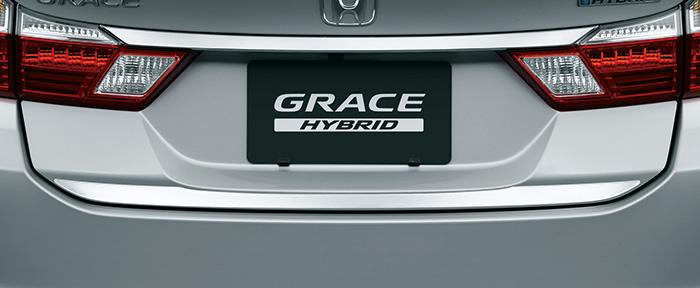 HONDA ホンダ 純正 GRACE グレイス トランクエンドデコレーション 2016.12~仕様変更 08F52-T9P-000||