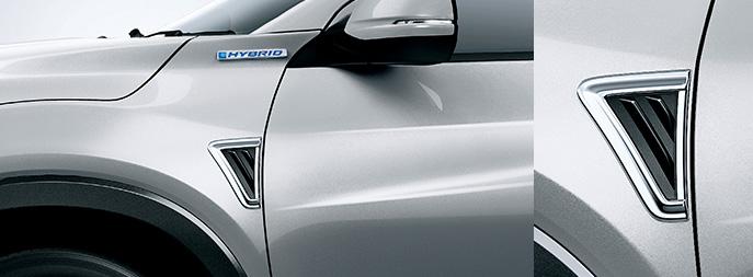 HONDA ホンダ 純正 VEZEL ヴェゼル フェンダーガーニッシュ ガソリン車用 2018.2~仕様変更 08F59-T7A-000||