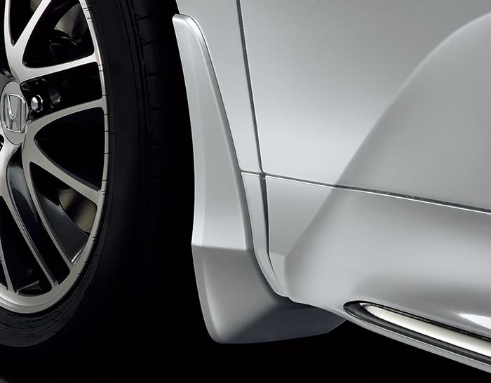 HONDA ホンダ 純正 ODYSSEY オデッセイ マッドガード G・EX・Honda SENSING/G以外用 プラチナホワイトP 2017.11~仕様変更 08P00-T6A-0C0A || 泥除け車 飛び石 車体保護 かっこいい 部品 パーツ