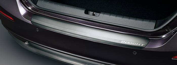 HONDA ホンダ 純正 リアバンパープロテクター 08P01-TXM-000 | INSIGHT インサイト ZE4 リアバンパー プロテクター プロテクション 傷防止 キズ防止 キズ 保護 プロテクター ホンダ純正 取り付け おすすめ 車 外装 車用品 カー用品 部品 パーツ ポイント消化