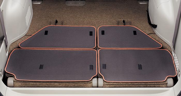 大空間 新着 正規店 使える HONDA ステップワゴン の純正アイテム勢揃い ホンダ 08P11-TAA-000G 2016.1~次モデル STEPWGN シートバックマット ホンダ純正