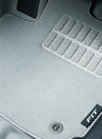 HONDA ホンダ 純正 FIT フィット フロアカーペットマット ライトグレー 5MT/6MT車用 2016.11~仕様変更 08P14-T5A-022A || GK3 GK4 GK5 フロアマット 車種別 カーマット 床 車 高品質 上質 交換 フロア カー マット 車種専用 車内 滑り止め デザイン カー用品 車用品