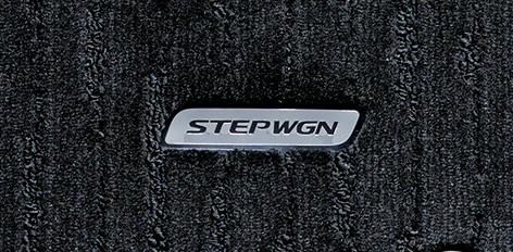 HONDA ホンダ 純正 STEPWGN ステップワゴン フロアカーペットマット ブラック/2列目キャプテンシート/ハイブリッド車用 2017.9~仕様変更 08P14-TAA-C10C || RP5 ステップワゴンスパーダハイブリッド SPADA HYBRID スパーダハイブリッド ハイブリッド フロアマット 車 マット
