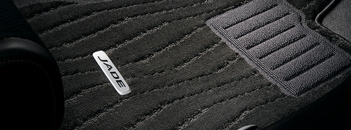 HONDA ホンダ 純正 JADE ジェイド フロアカーペットマット HYBRID・RS用 2列仕様車用 2018.5~仕様変更 08P15-T4R-010B || FR4 HYBRID RS フロアマット 車種別 カーマット 床 車 高品質 上質 交換 フロア カー マット 車種専用 車内 滑り止め デザイン カー用品 車用品