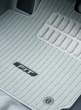 HONDA ホンダ 純正 FIT フィット フロアカーペットマット ライトグレー CVT/7AT車用 2016.11~仕様変更 08P15-T5A-022 || GK3 GK4 GK5 GK6 GP5 GP6 フィットハイブリッド HYBRID フロアマット 車種別 カーマット 床 車 高品質 上質 交換 フロア カー マット 車種専用 車内