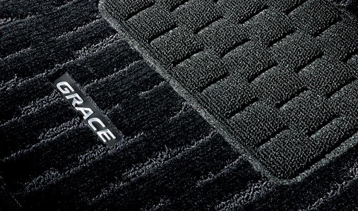 HONDA ホンダ 純正 GRACE グレイス フロアカーペットマット プレミアムタイプ 2017.7~仕様変更 08P15-T9P-010A || GM4 GM5 GM6 GM9 グレイスハイブリッド HYBRID フロアマット 車種別 カーマット 床 車 高品質 上質 交換 フロア カー マット 車種専用 車内 滑り止め