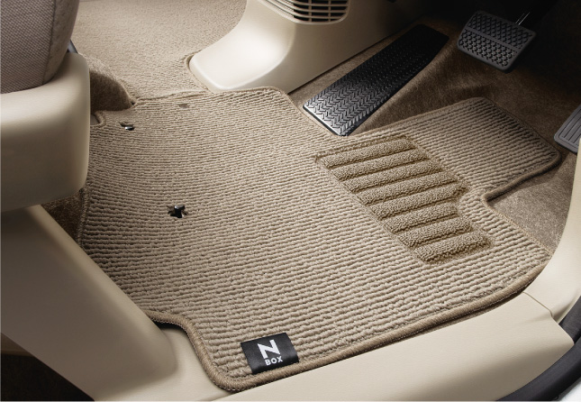 HONDA ホンダ 純正 NBOX N-BOX エヌボックス フロアカーペットマット スライドリアシート装備車用 2017.2~仕様変更 08P15-TY0-020B || JF1 JF2 NBOXカスタム N-BOXカスタム Nボックス フロアマット 車種別 カーマット 床 車 高品質 上質 交換 フロア カー マット 車種専用