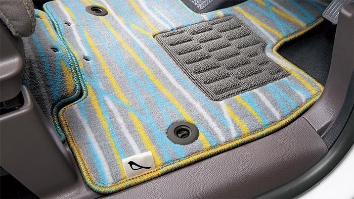 HONDA ホンダ 純正 NBOX N-BOX エヌボックス フロアカーペットマット デザインタイプ/助手席スーパースライドシート 2017.8~仕様変更 08P16-PA1-010 || JF3 JF4 NBOXカスタム N-BOXカスタム Nボックス フロアマット 車種別 カーマット 床 車 高品質 交換 フロア カー マット