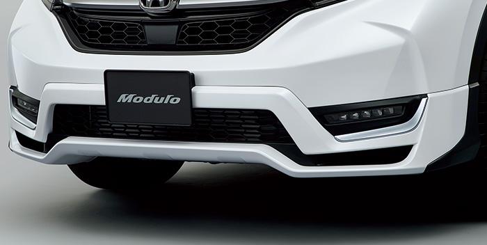 HONDA ホンダ 純正 CR-V フロントエアロバンパー ミッドナイトブルービームメタリック 2018.8~仕様変更 08P98-TLA-0Z0 RW1 RW2 RT5 RT6||