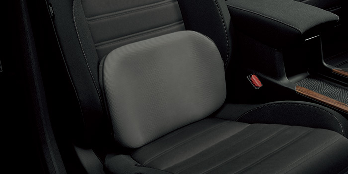 HONDA ホンダ 純正 CR-V ランバーフィットサポート 2018.8~仕様変更 08R31-ES1-001 RW1 RW2 RT5 RT6    クッション 腰痛 腰 サポート 車 車用 腰にいい 腰痛対策 腰痛防止 長時間 運転 シートクッション くるま用