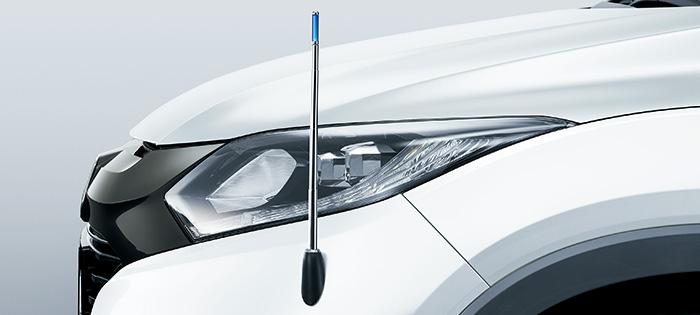 HONDA ホンダ VEZEL ヴェゼル ホンダ純正 コーナーポール HYBRID車/標準LEDフォグライト装備車用 [2016.3~次モデル][ 08V60-T7A-000B ]||