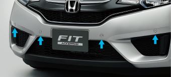 HONDA ホンダ 純正 FIT フィット フロントセンサー 本体 ティンテッドシルバーM (2016.11~仕様変更) 08V66-T5A-040K||