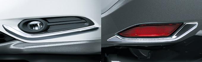 HONDA ホンダ VEZEL ヴェゼル ホンダ純正 エクステリアパッケージB HYBRID車用 [2016.3~次モデル][ 08Z01-T7A-000B ]||