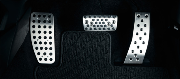 HONDA ホンダ ACCORD アコード ホンダ純正 スポーツペダル(フットレスト/ブレーキペダル/アクセルペダル 3点セット)【 2012.04~次モデル】||
