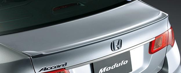 HONDA ホンダ ACCORD アコード ホンダ純正 トランクスポイラー ダックテールタイプ【 2012.04~次モデル】||