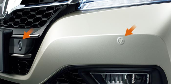 HONDA ホンダ Accord HYBRID アコードハイブリッド ホンダ純正 センサー フロント用 本体+取付アタッチメント【 2013.6~次モデル】||