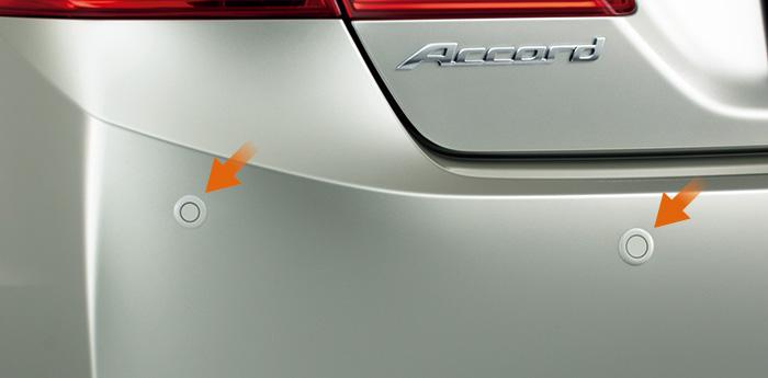 HONDA ホンダ Accord HYBRID アコードハイブリッド ホンダ純正 センサー リア用 本体+取付アタッチメント【 2013.6~次モデル】||