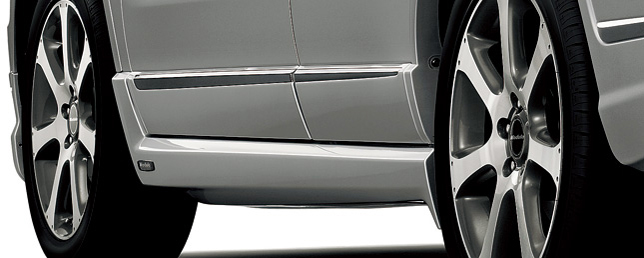 HONDA ホンダ CR-V ホンダ純正 エアロスカート(サイド)【 2009.09~2011.10】||