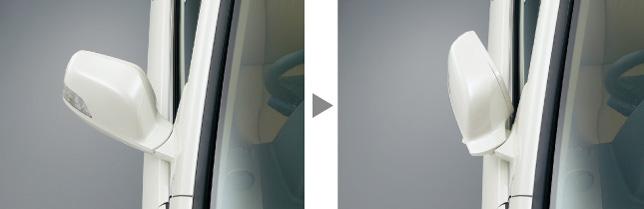 HONDA ホンダ CR-V ホンダ純正 オートリトラミラーシステム(ドアロック連動タイプ)【 2009.09~2011.10】||