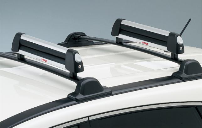 HONDA ホンダ CR-V ホンダ純正 キャリアシステム:スキー/スノーボードアタッチメント(ロック付)フラットタイプ【 2009.09~2011.10】||