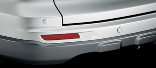 HONDA ホンダ CR-V ホンダ純正 リアコーナーセンサー/バックソナー本体(4センサー)+取付アタッチメント【 2009.09~2011.10】||