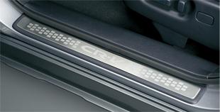 HONDA ホンダ CR-V ホンダ純正 サイドステップガーニッシュフロント/リアセット(ステンレス製)【 2009.09~2011.10】||
