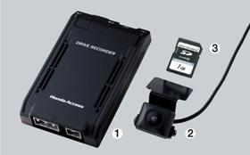 HONDA ホンダ CR-V ホンダ純正 ドライブレコーダー+取付アタッチメント【 2009.09~2011.10】||