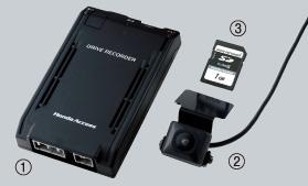 HONDA ホンダ CR-V ホンダ純正 ドライブレコーダー本体+取付アタッチメント【 2011.11~次モデル】||