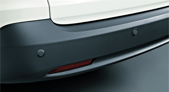 HONDA ホンダ CR-V ホンダ純正 リアセンサー(超音波感知システム・4センサー)本体+取付アタッチメント【 2011.11~次モデル】||