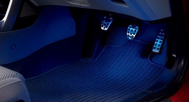 HONDA ホンダ CR-Z ホンダ純正 LEDフットライト(フロント用、左右セット)【 2011.07~次モデル】 || ライト 車 内装 室内 イルミネーション イルミ 後付け 照明 アクセサリー