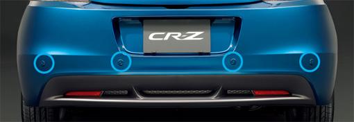 HONDA ホンダ CR-Z ホンダ純正 リアコーナーセンサー/バックソナー セット【 2011.07~次モデル】||